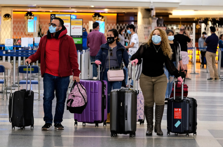 LA Natives who are vaccinated can now travel without Covid-19 testing.
