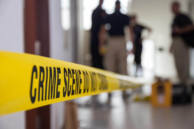 A los angeles crime scene