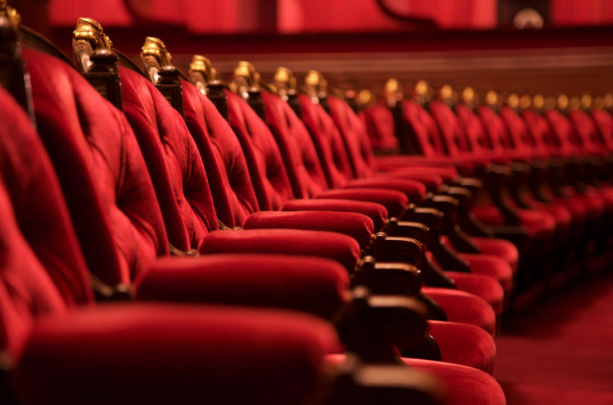 A Los angeles movie theater